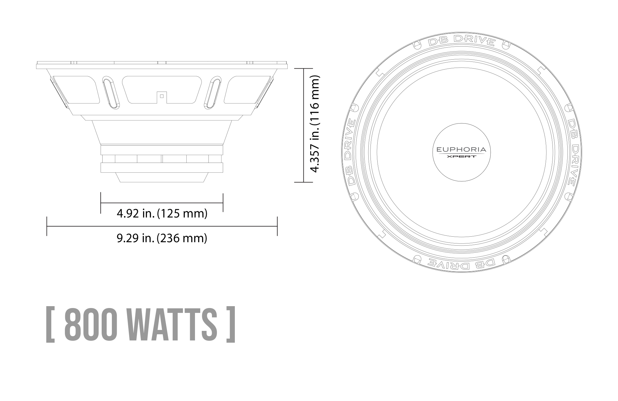 EXM10SN Neodymium Series Midrange