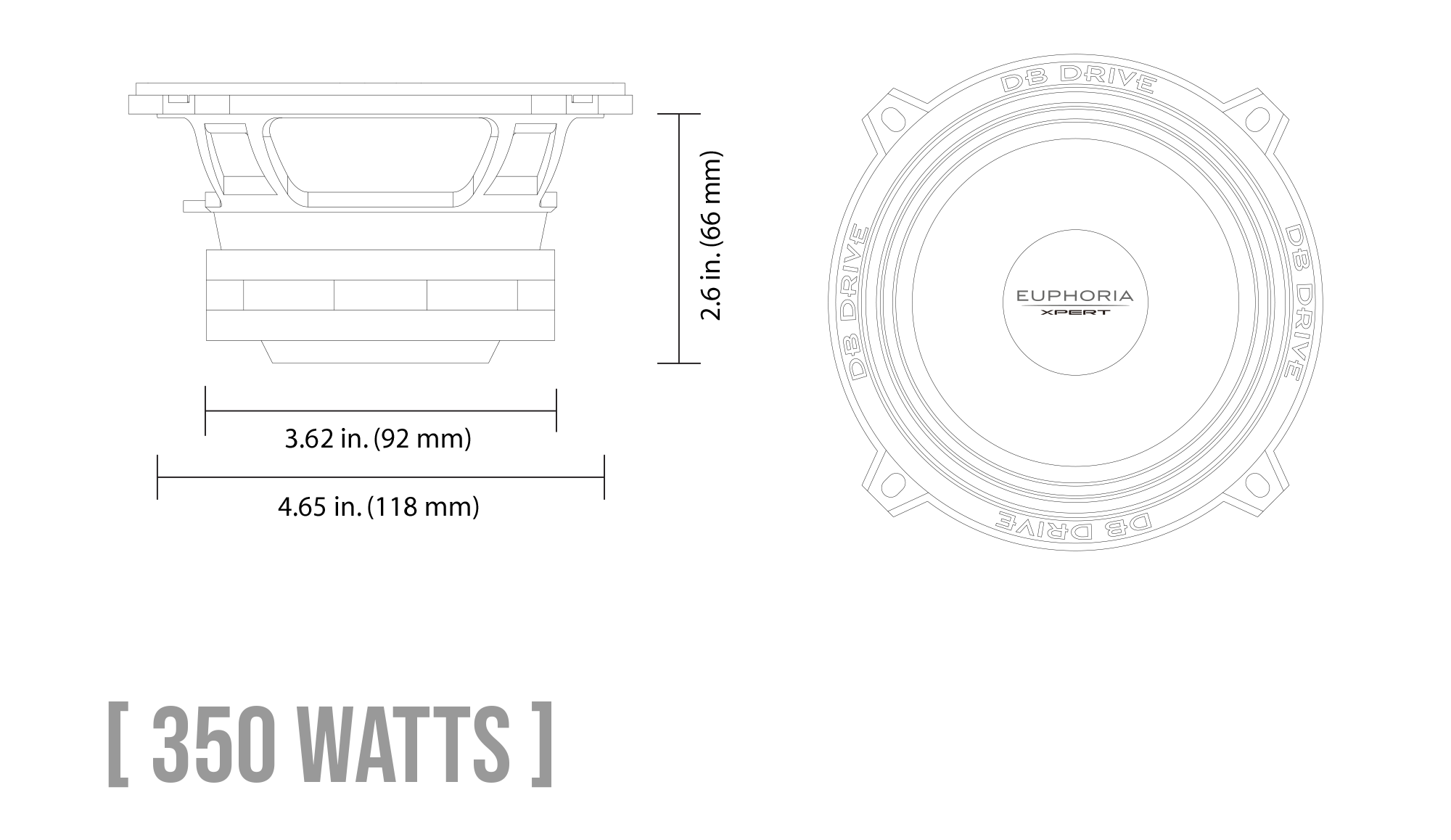 EXM5N Neodymium Series Midrange