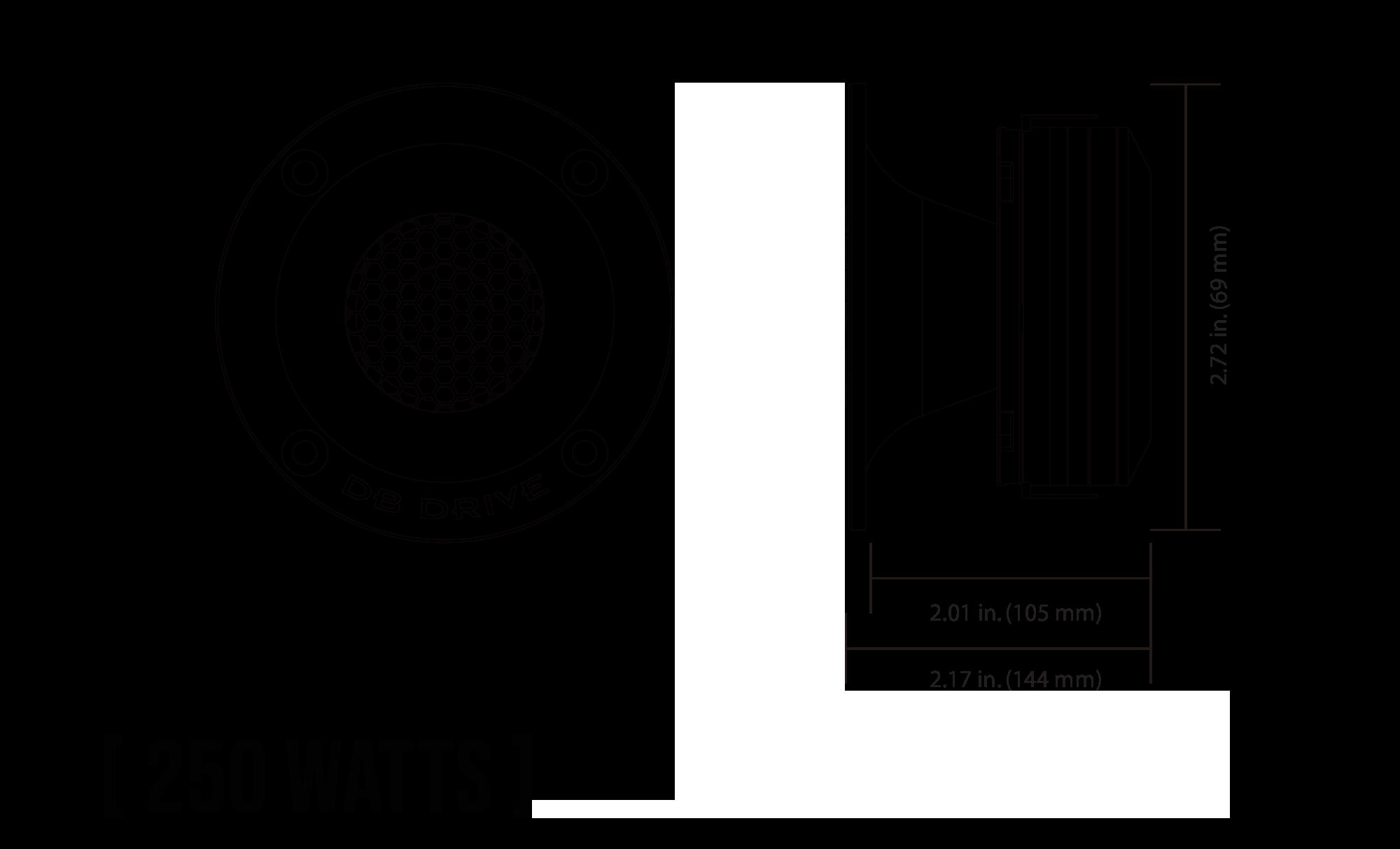 EX6NCX Neodymium Series Midrange